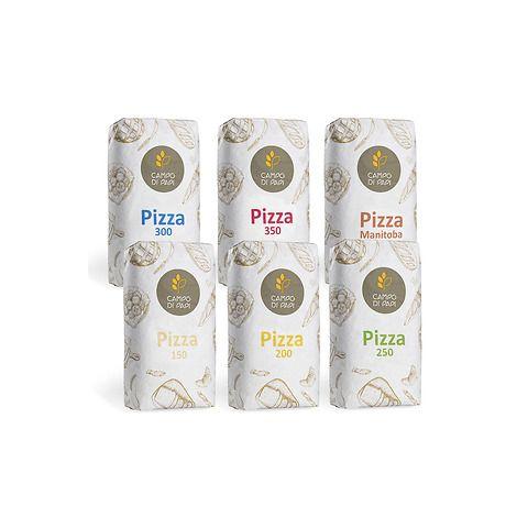 Fornitura di farina per pizza da 60 Kg